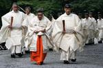 池田厚子祭司と大宮司