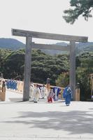 平成21年11月3日宇治橋渡始式
