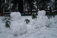 雪だるま〜