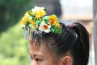 花の冠です