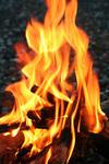燃えてます!