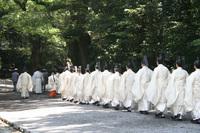 神職の行列です