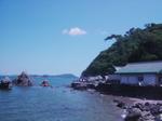 夫婦岩・立石浜と二見興玉神社