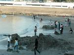 一日神領民・禊浜浜辺